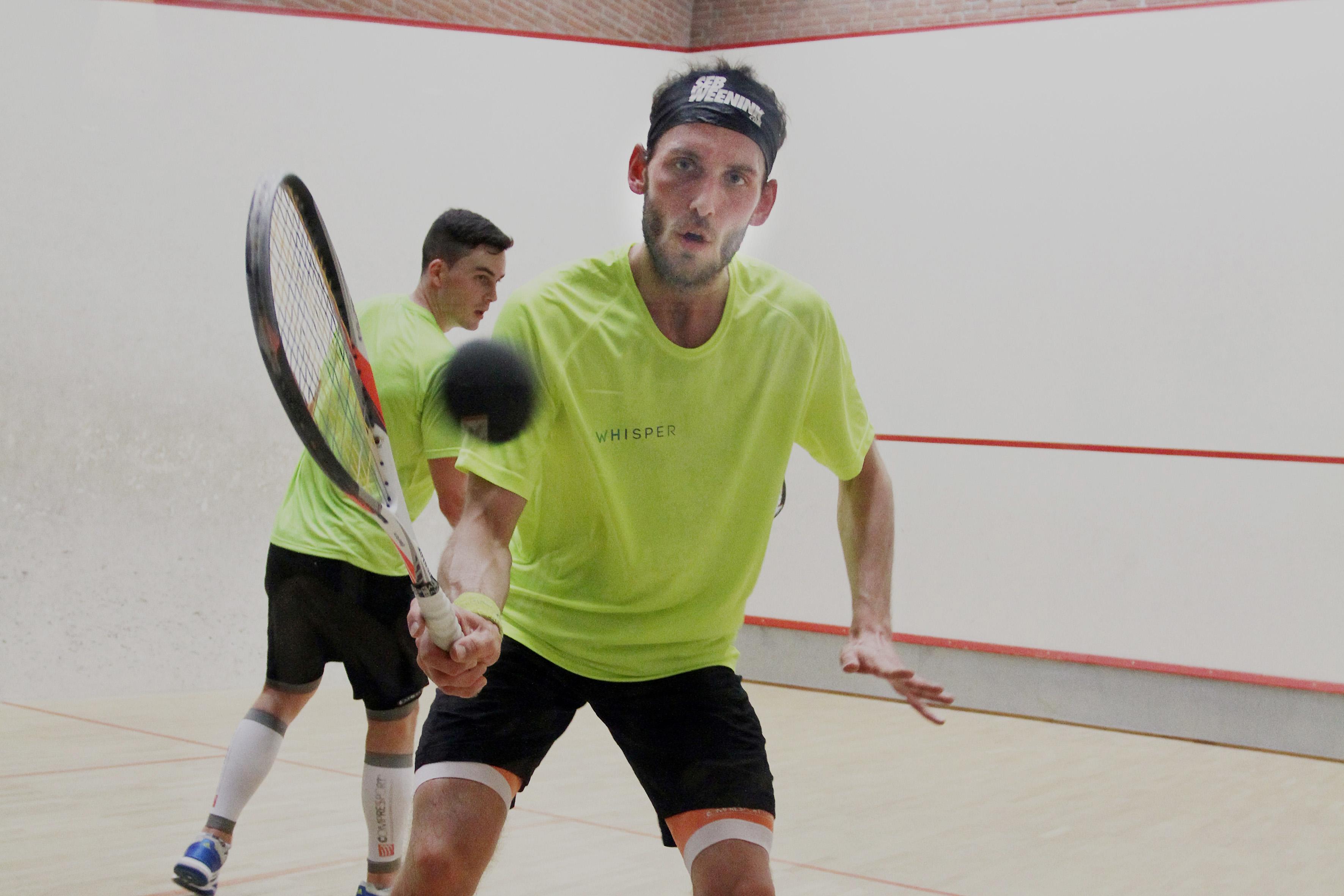 Innerview met Sebastiaan Weenink Nederlands kampioen squash